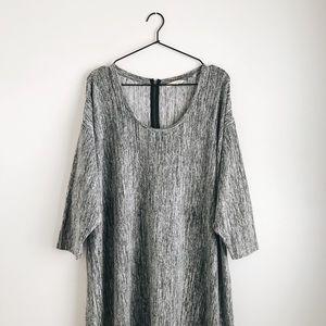 SOFT SURROUNDING HEATHER GREY DRESS